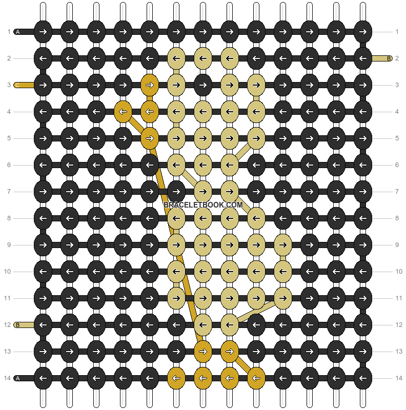 Alpha pattern #10599 pattern