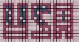 Alpha pattern #10601