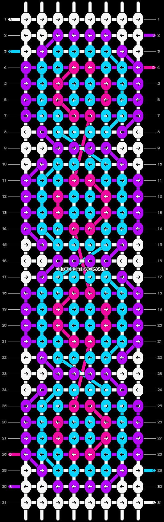 Alpha pattern #10610 pattern