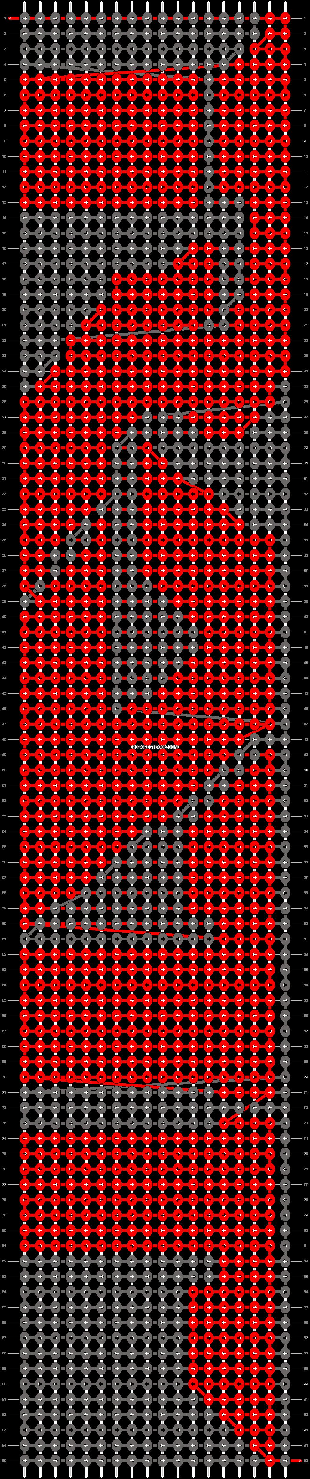 Alpha pattern #10613 pattern