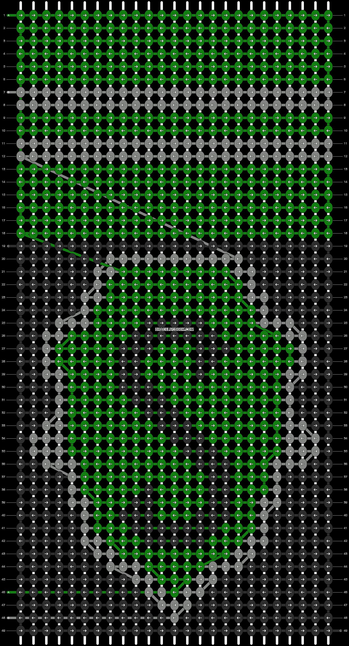 Alpha pattern #10615 pattern