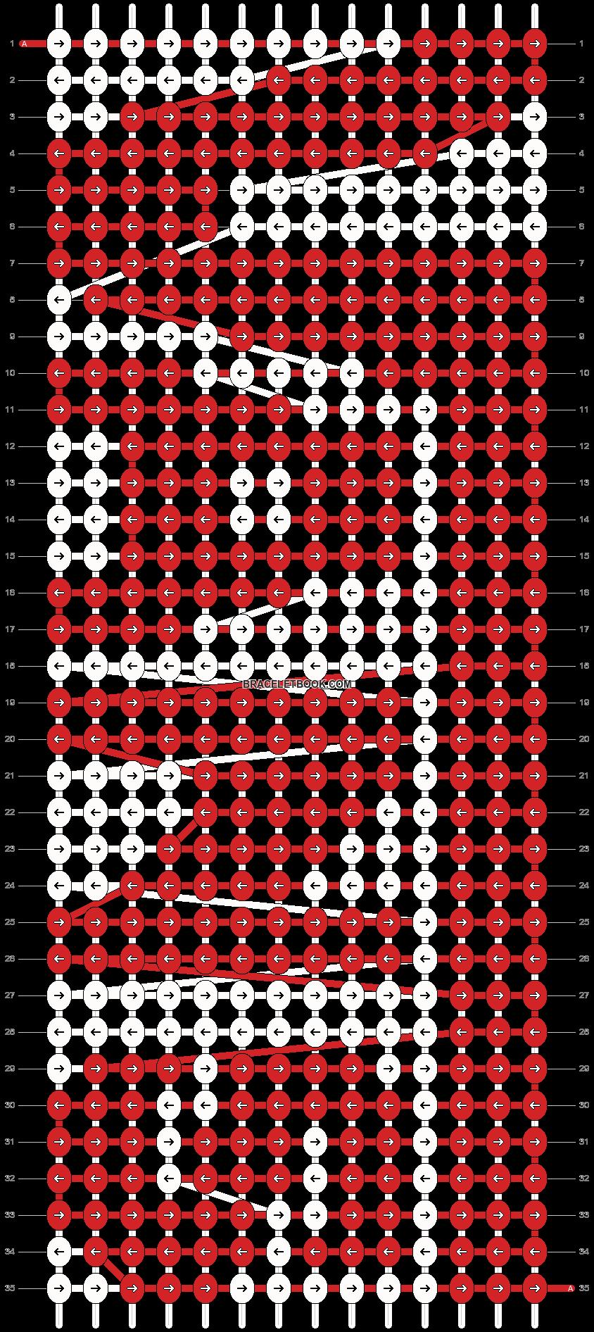 Alpha pattern #10616 pattern