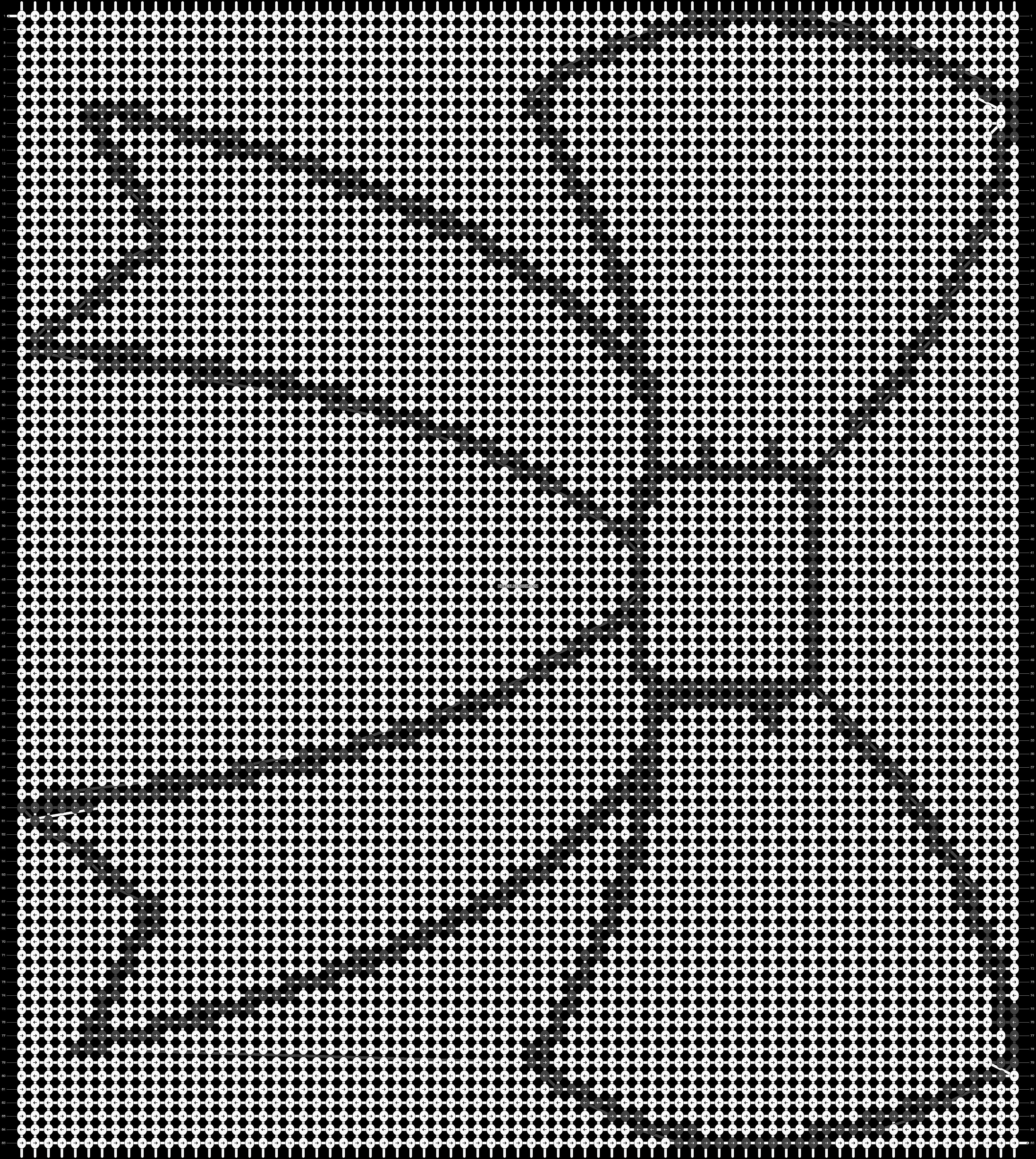 Alpha pattern #10627 pattern