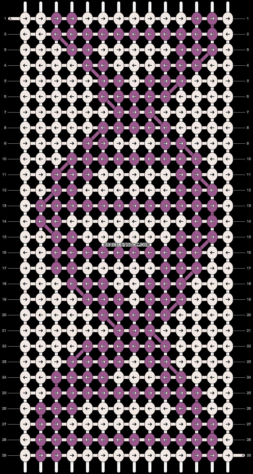 Alpha pattern #10639 pattern