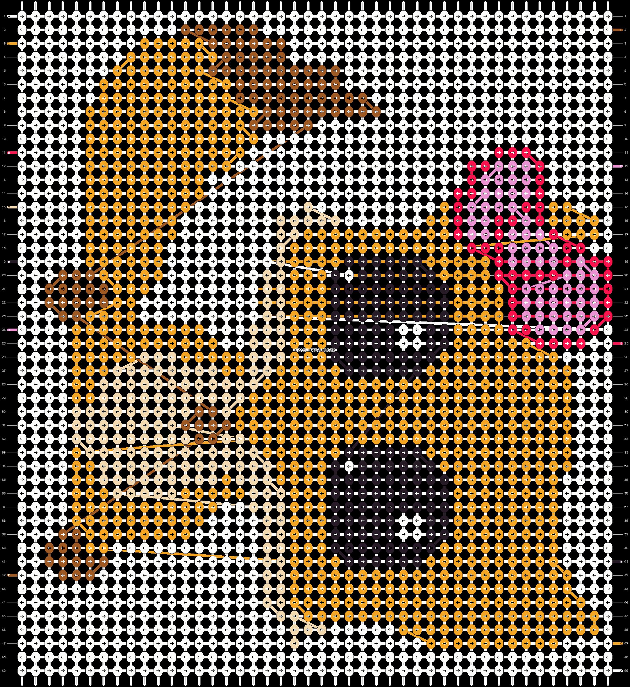 Alpha pattern #10644 pattern