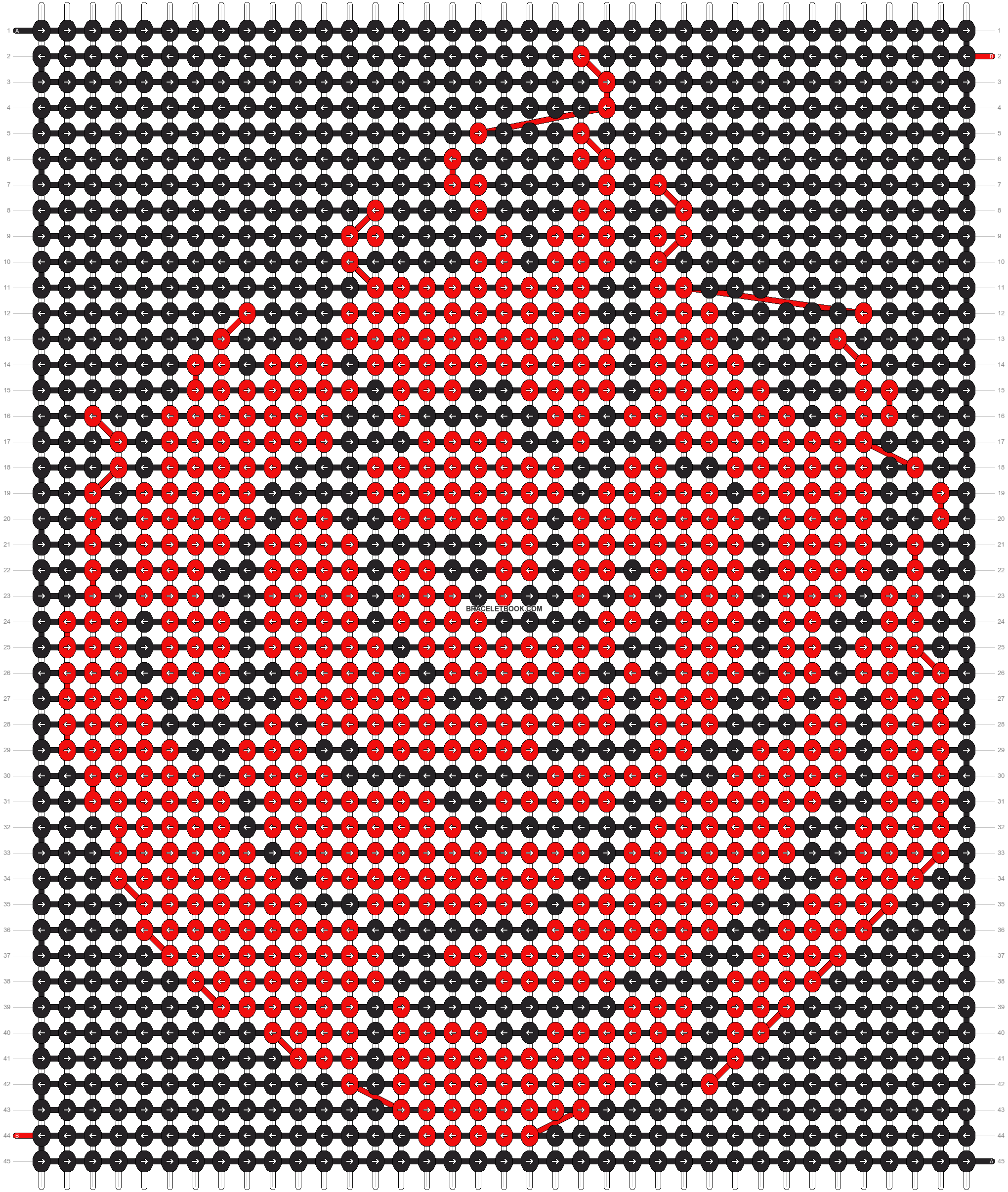 Alpha pattern #10645 pattern