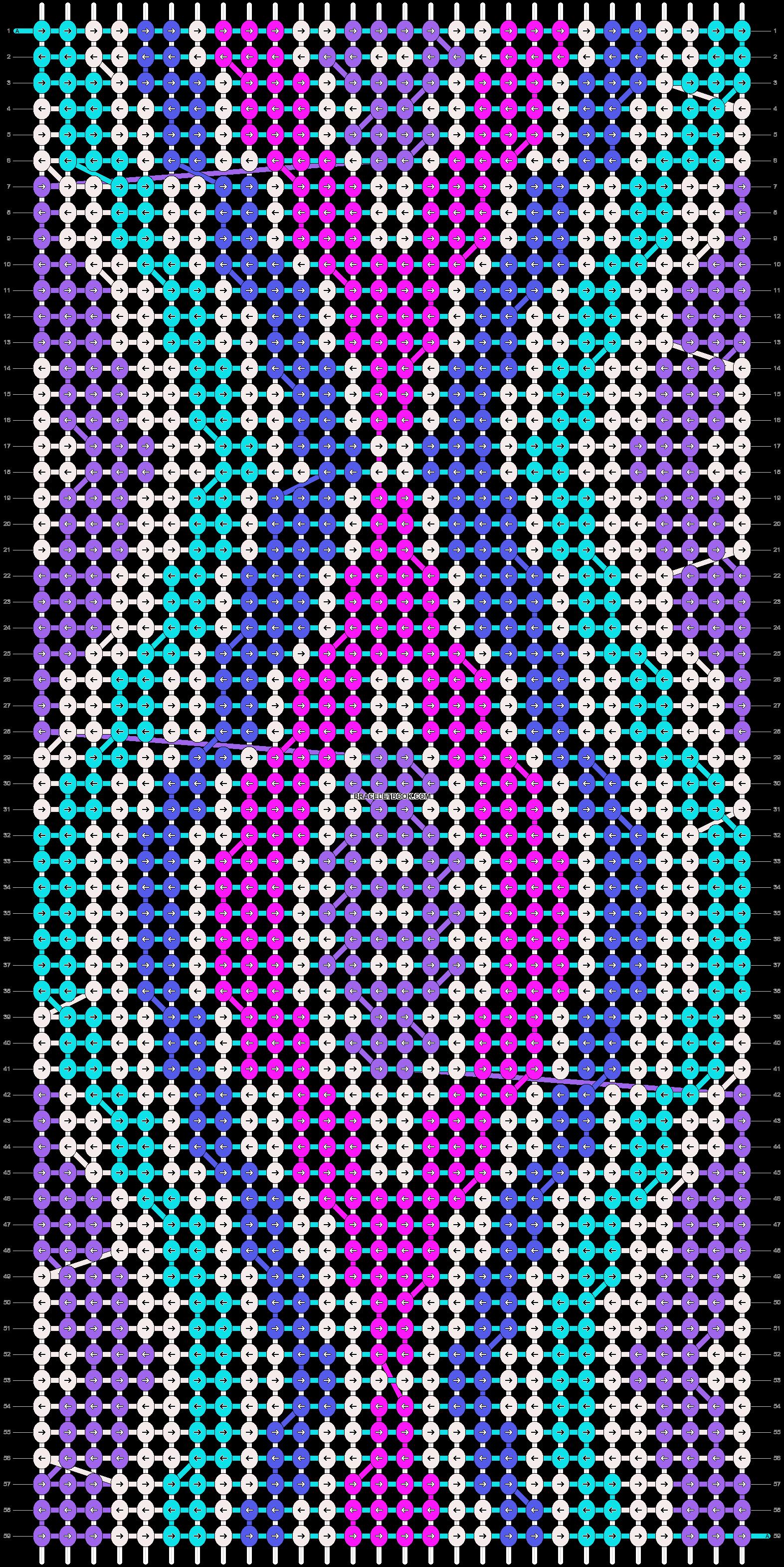 Alpha pattern #10650 pattern