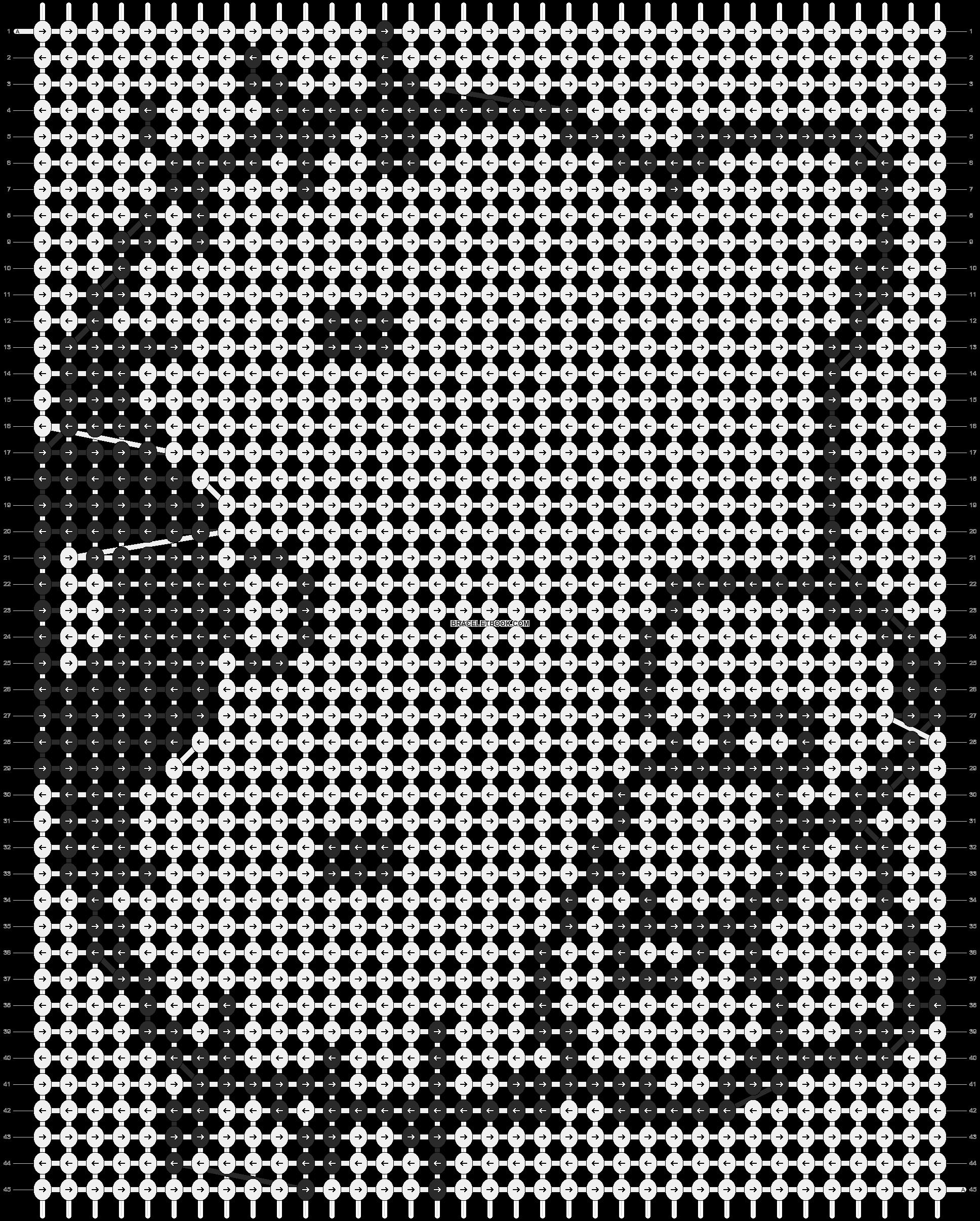Alpha pattern #10655 pattern