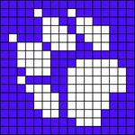 Alpha Friendship Bracelet Pattern #10656