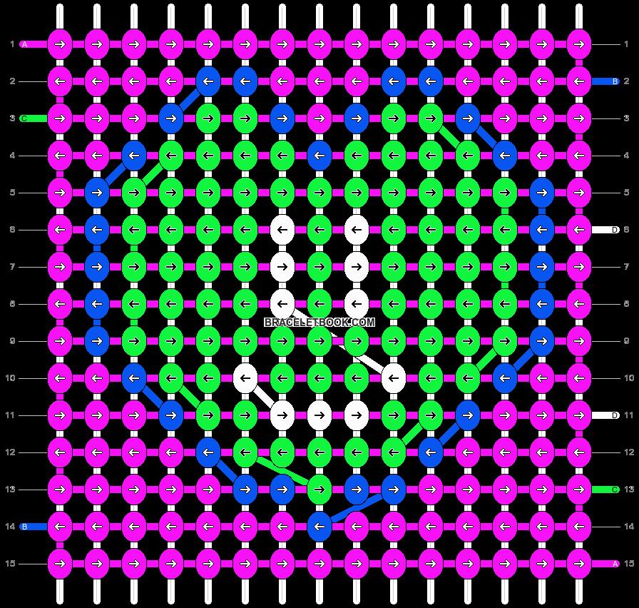 Alpha pattern #10666 pattern