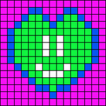 Alpha pattern #10666
