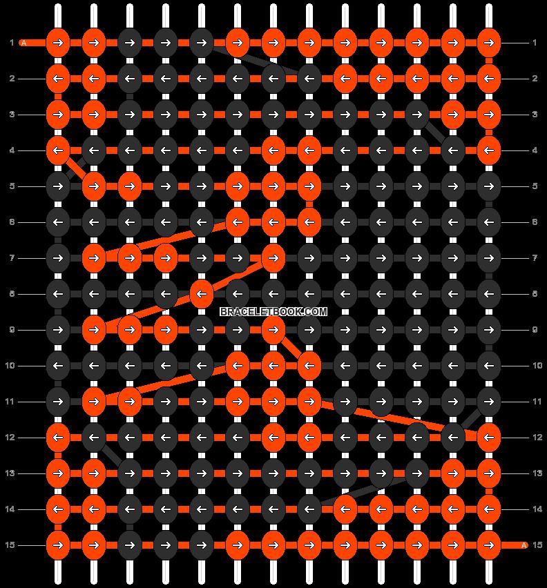Alpha pattern #10677 pattern