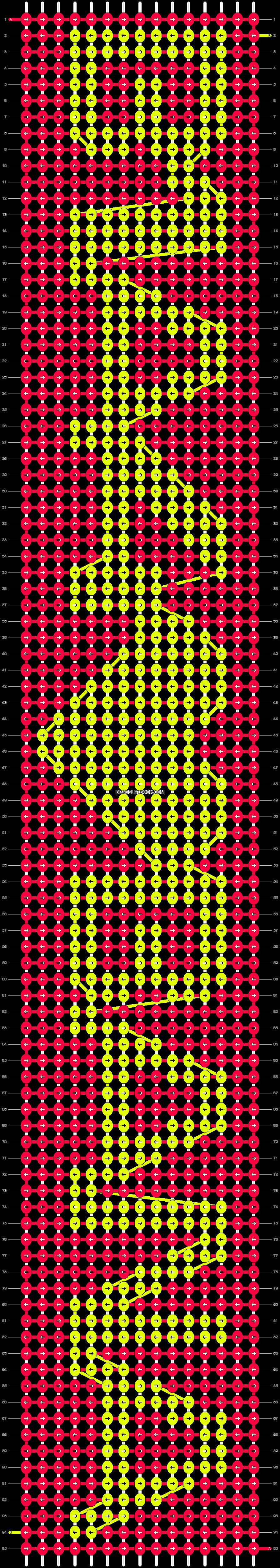 Alpha pattern #10678 pattern