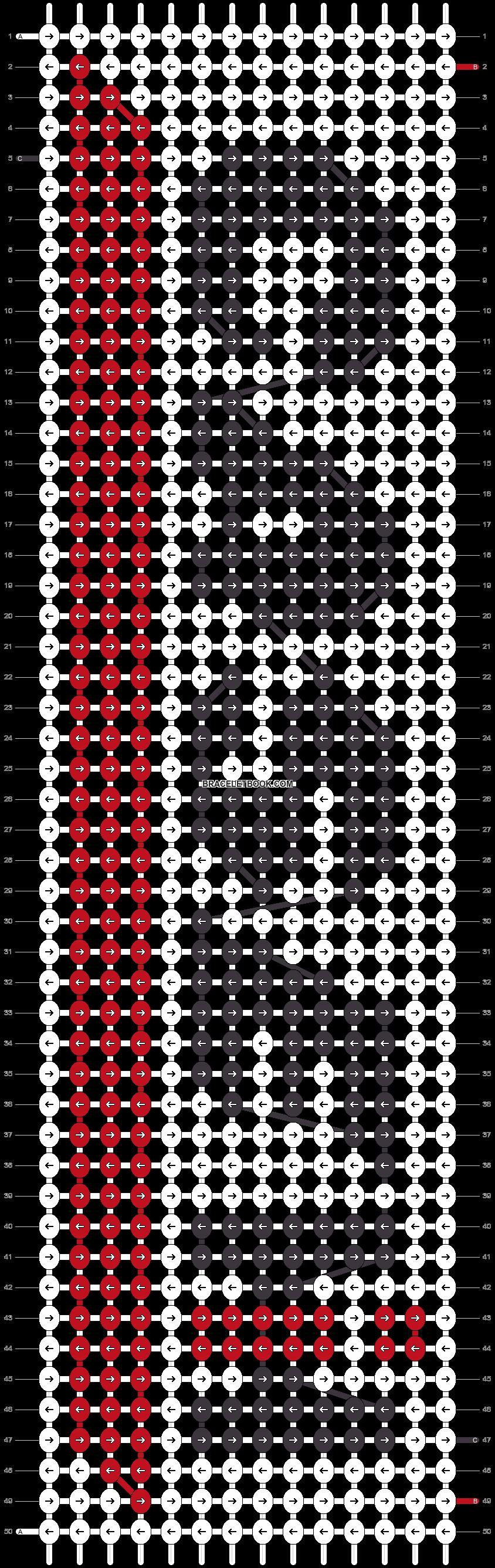 Alpha pattern #10686 pattern