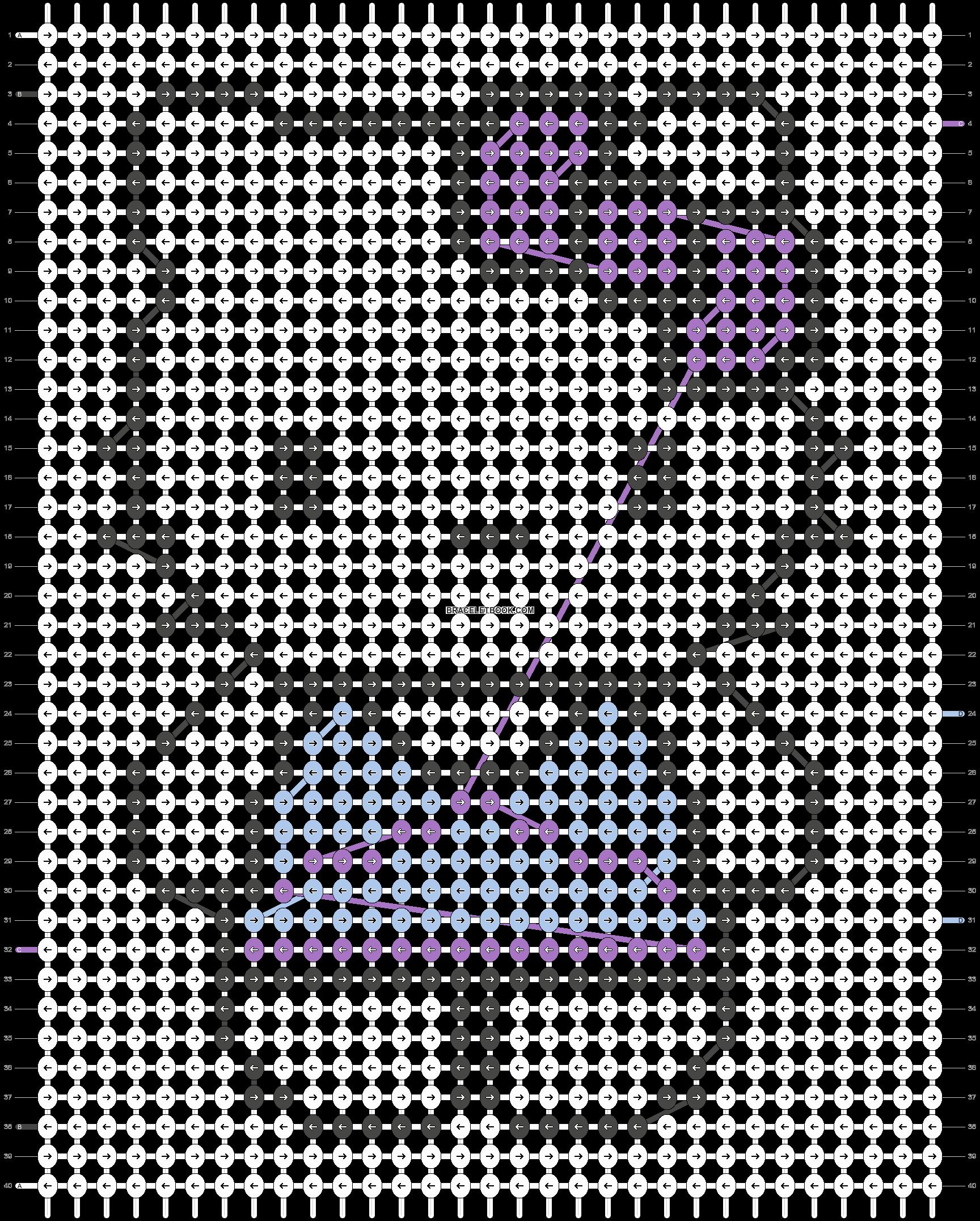 Alpha pattern #10687 pattern