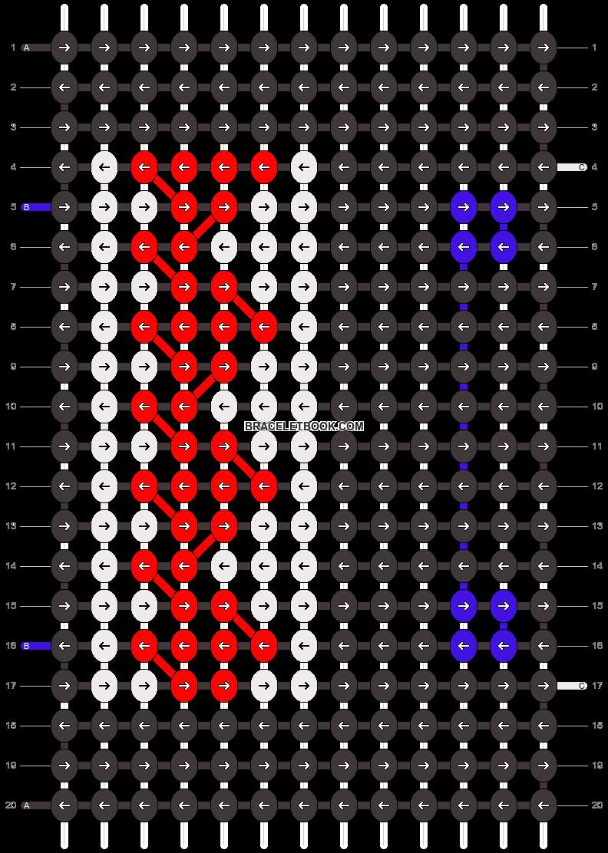 Alpha pattern #10690 pattern
