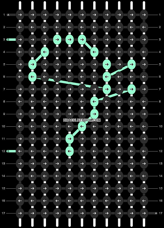 Alpha pattern #10692 pattern