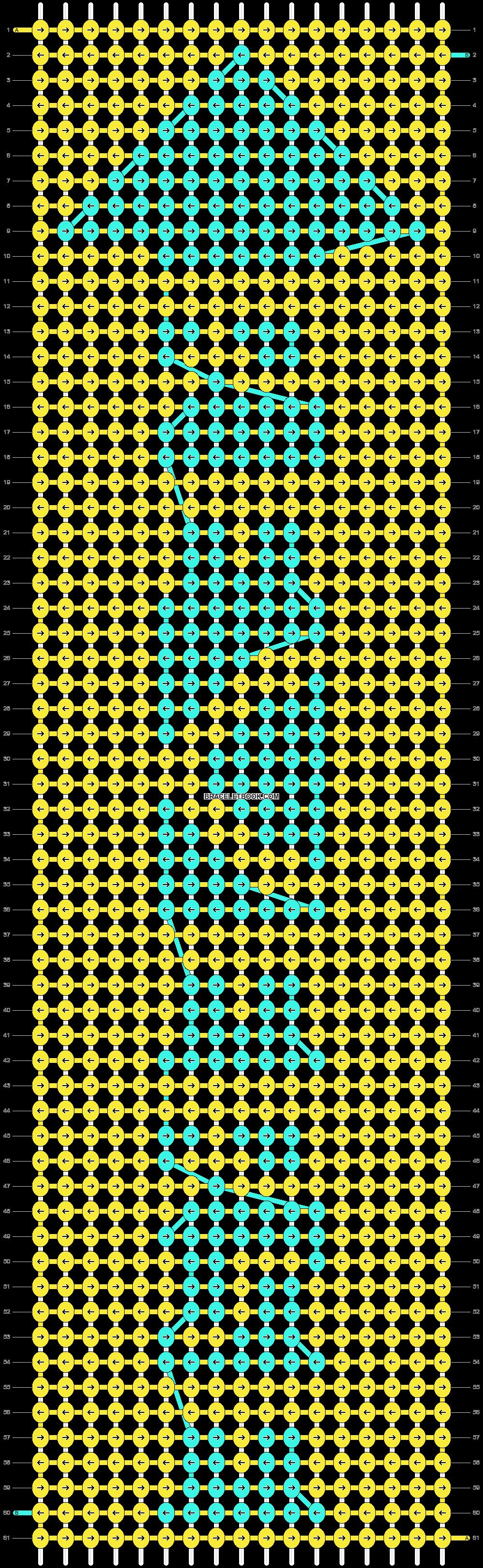 Alpha pattern #10693 pattern