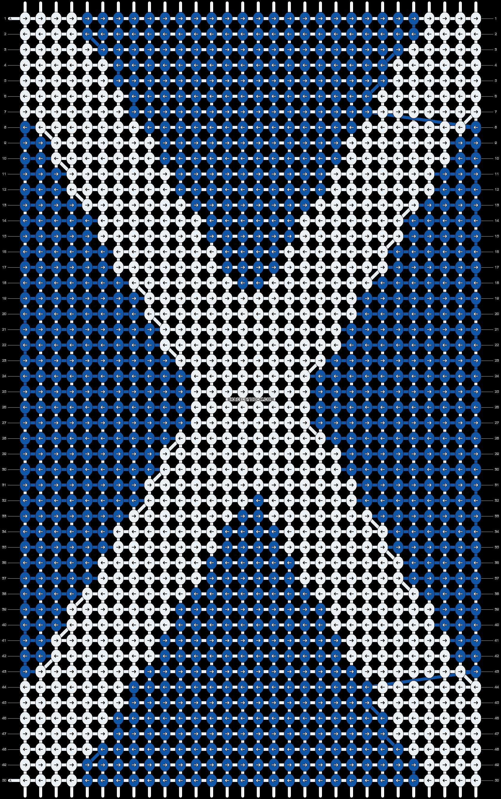 Alpha pattern #10696 pattern