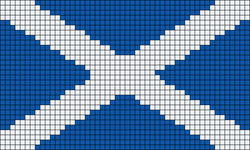 Alpha Friendship Bracelet Pattern #10696