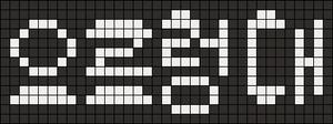 Alpha pattern #10700
