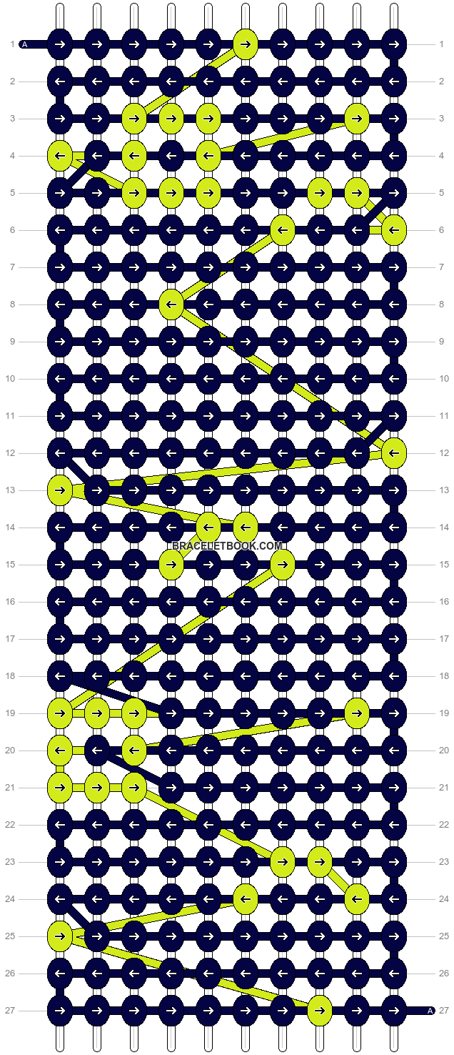 Alpha pattern #10703 pattern
