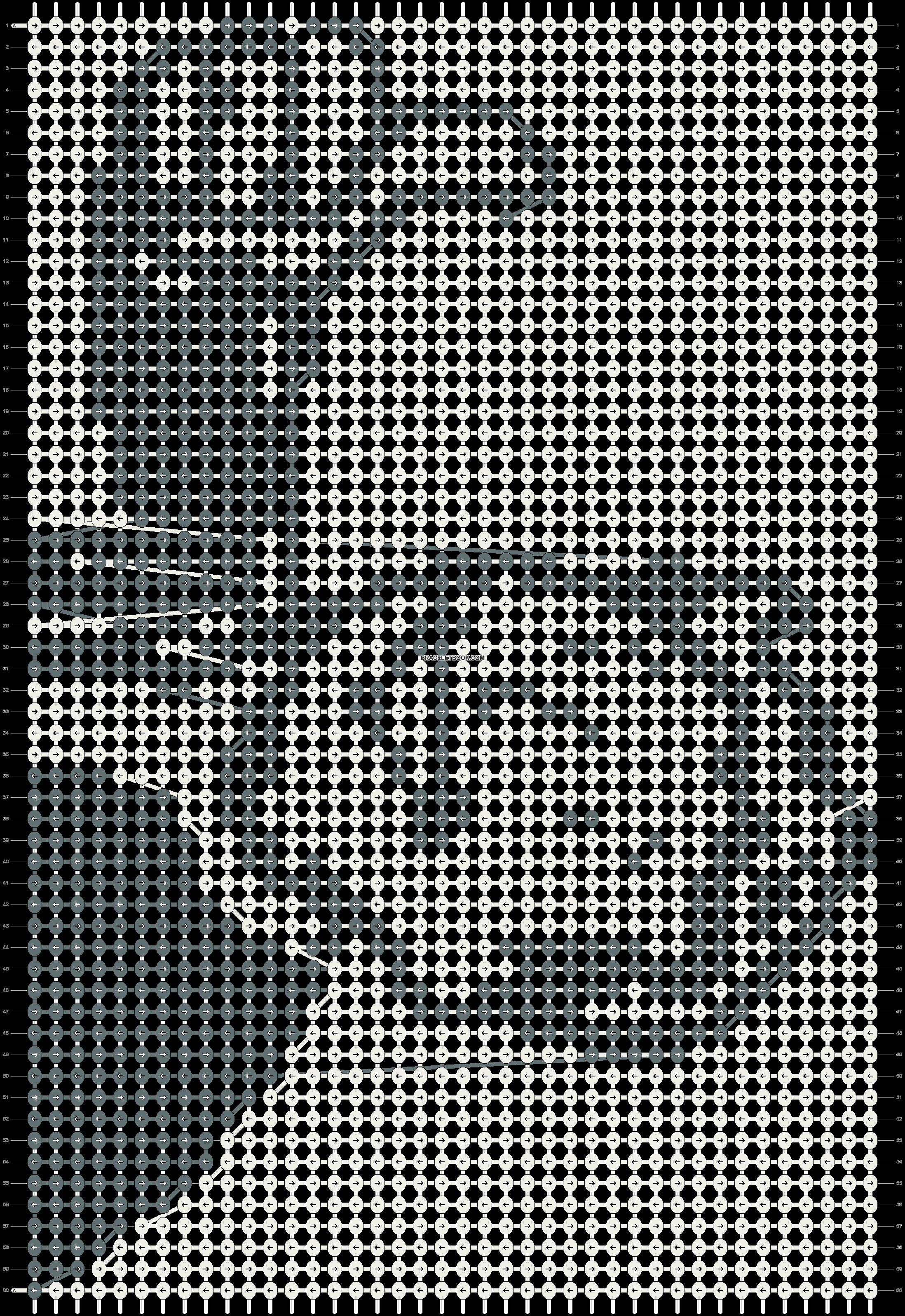 Alpha pattern #10721 pattern