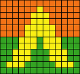 Alpha pattern #10722