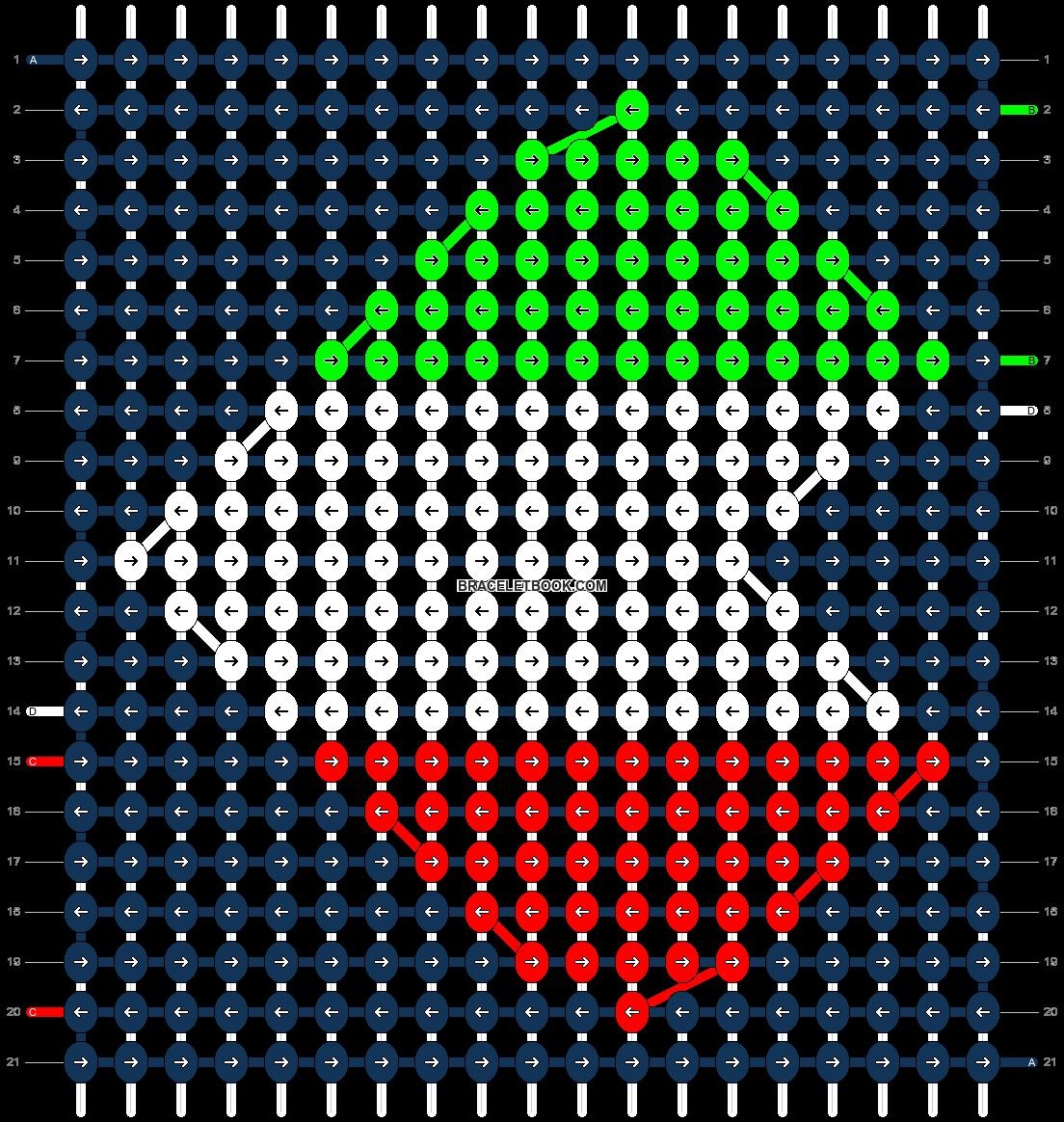 Alpha pattern #10728 pattern