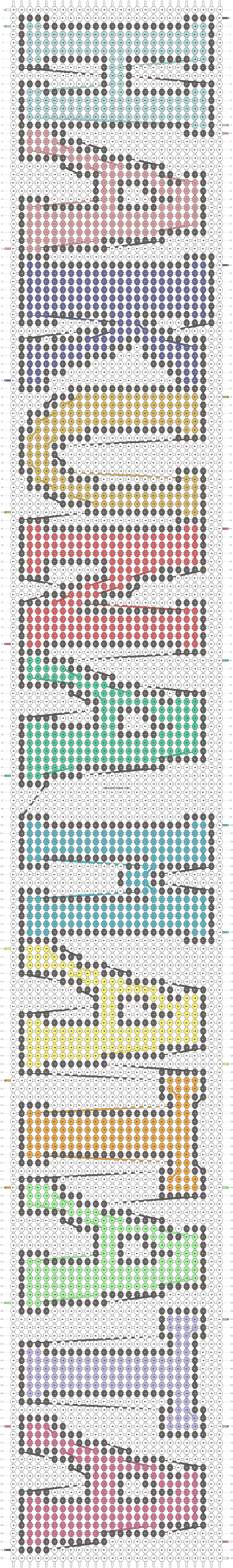 Alpha pattern #10736 pattern