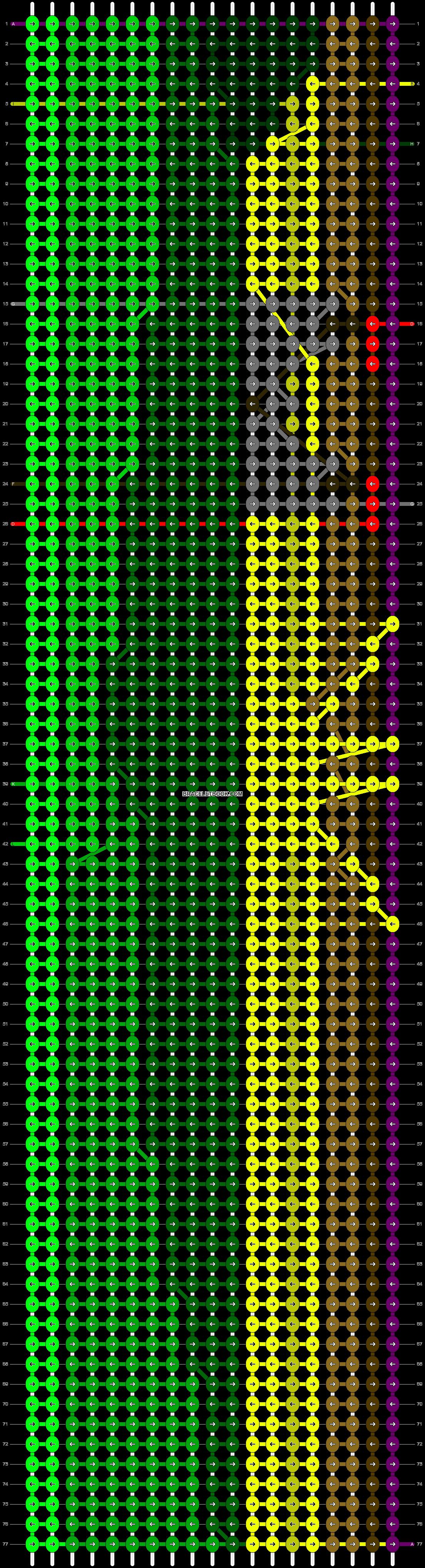 Alpha pattern #10742 pattern