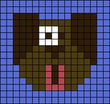 Alpha pattern #10743