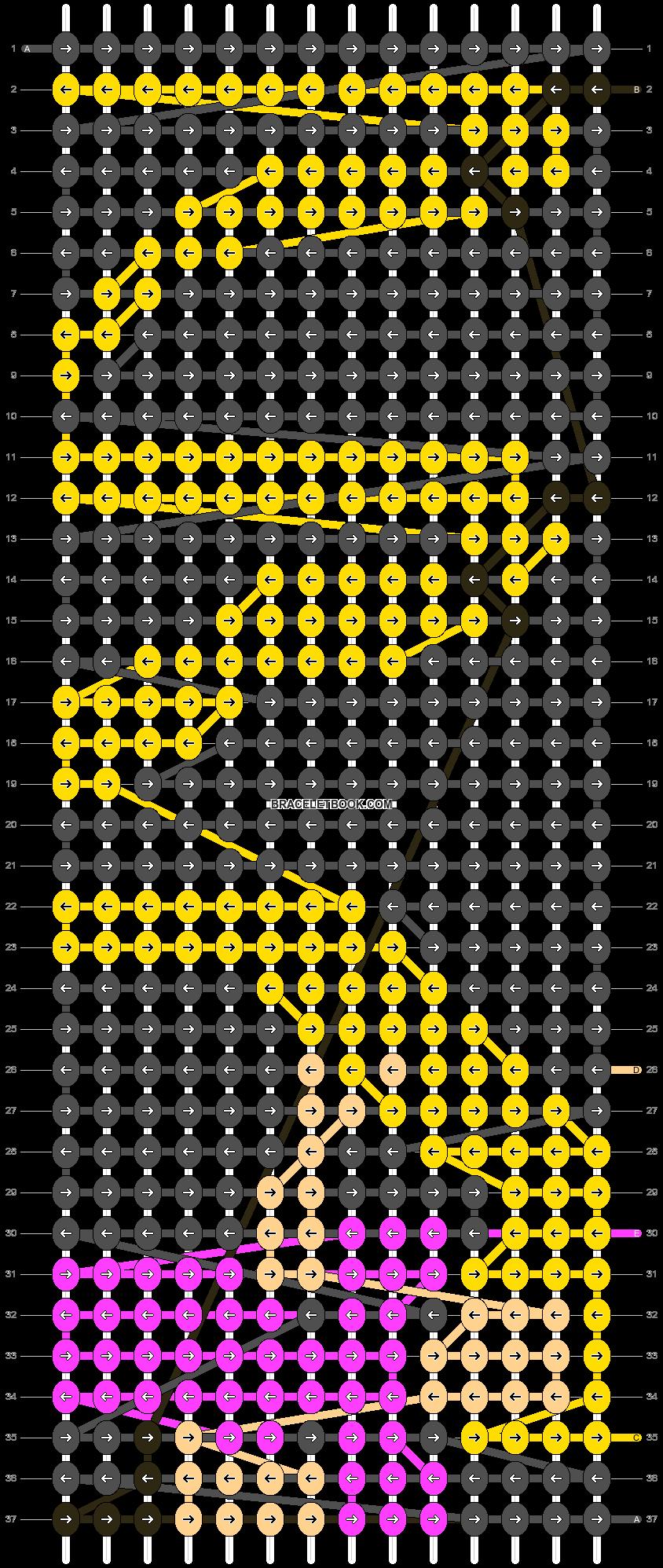 Alpha pattern #10745 pattern