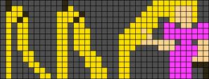 Alpha pattern #10745