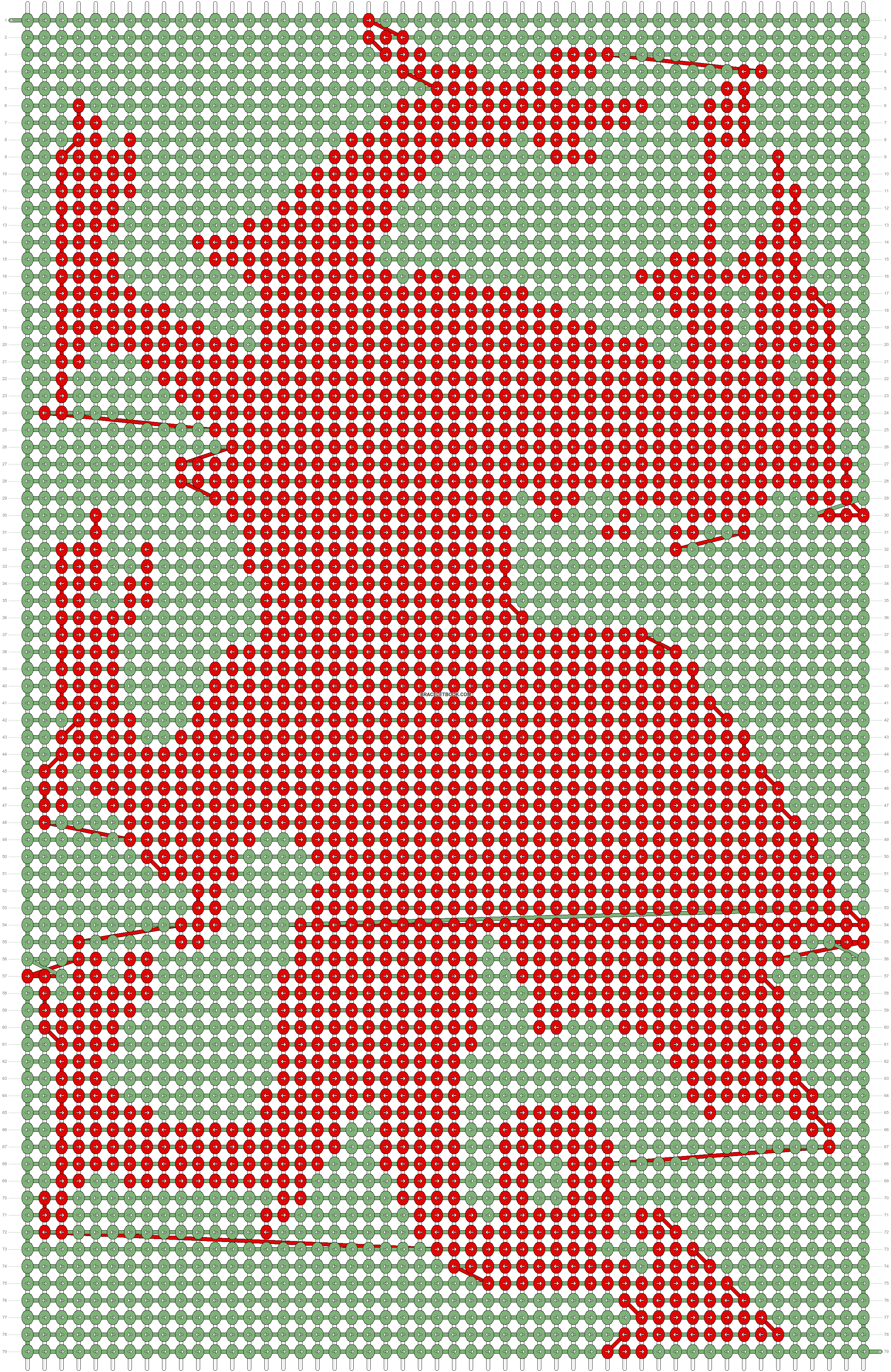 Alpha pattern #10748 pattern