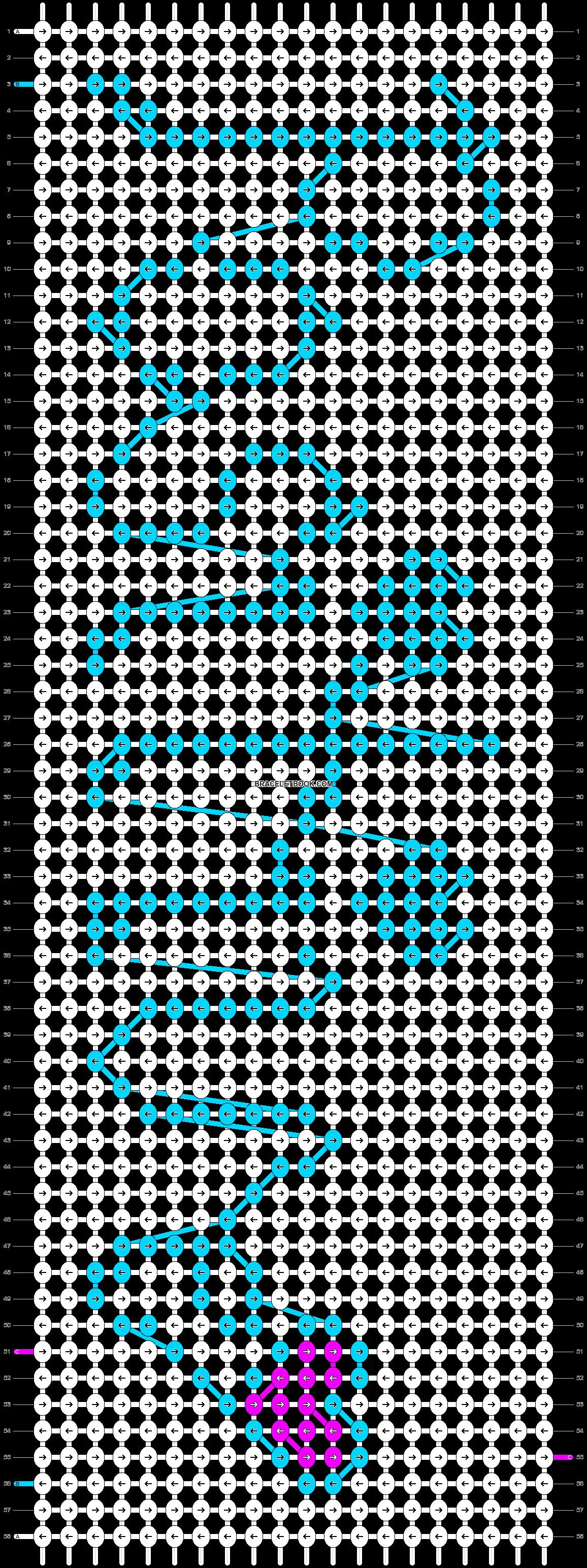 Alpha pattern #10752 pattern