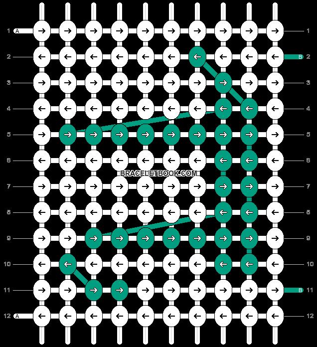Alpha pattern #10759 pattern