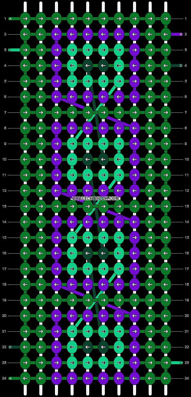 Alpha pattern #10766 pattern