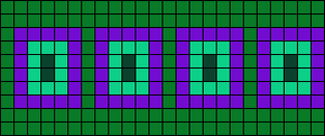 Alpha pattern #10766