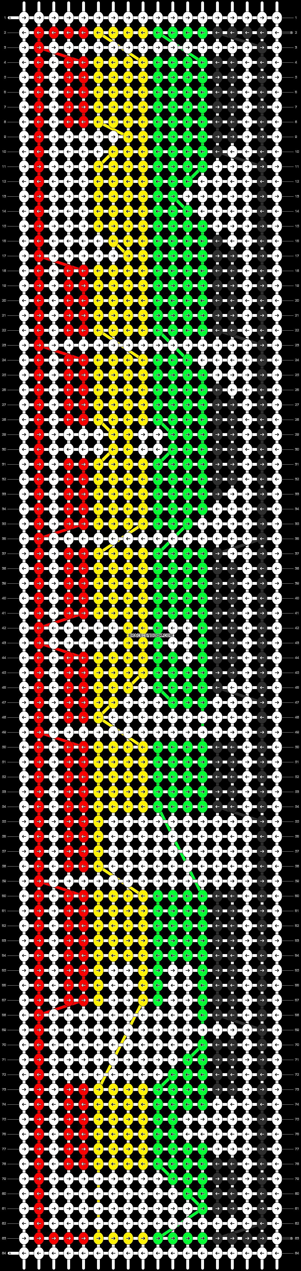 Alpha pattern #10768 pattern