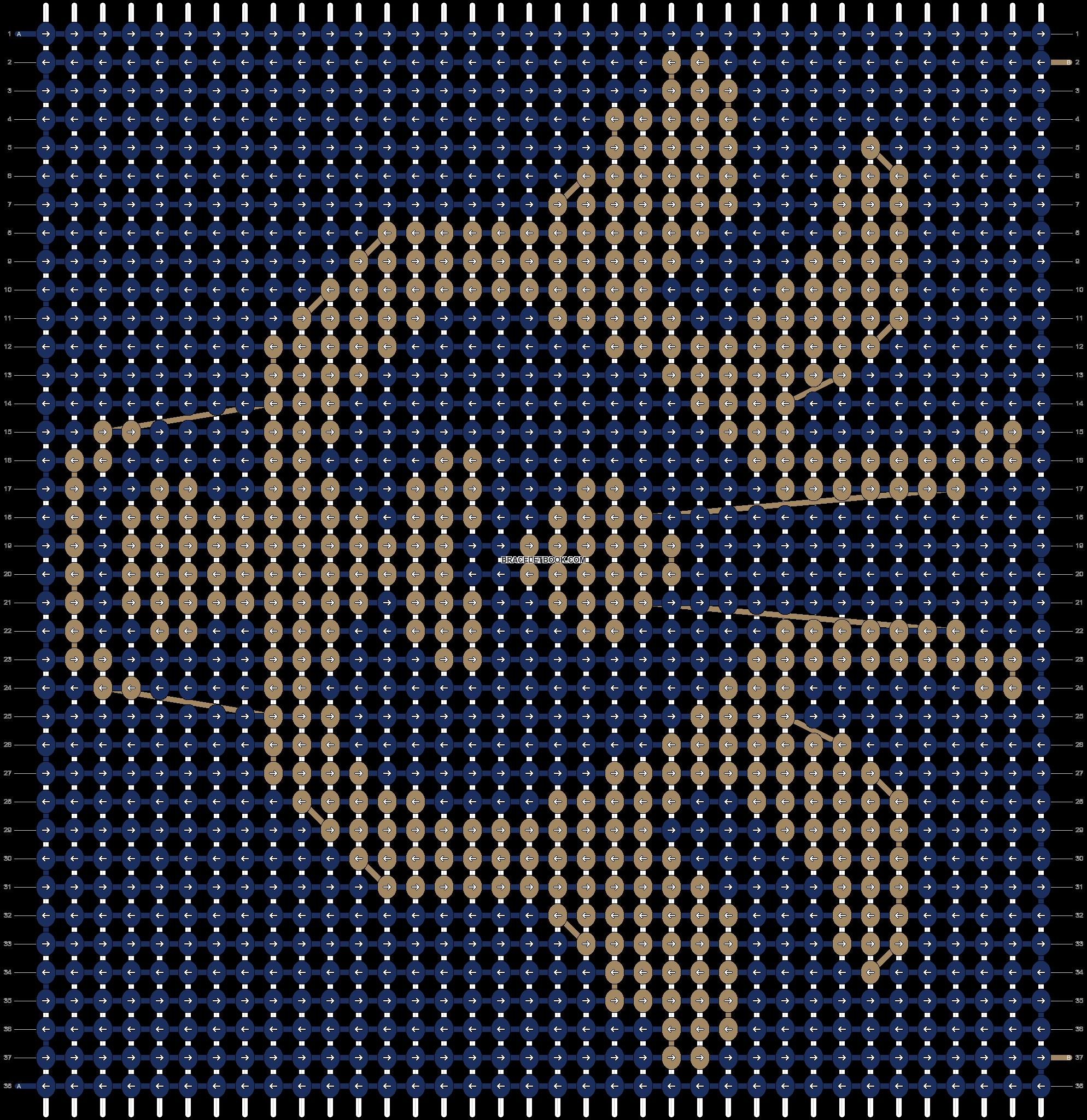 Alpha pattern #10770 pattern