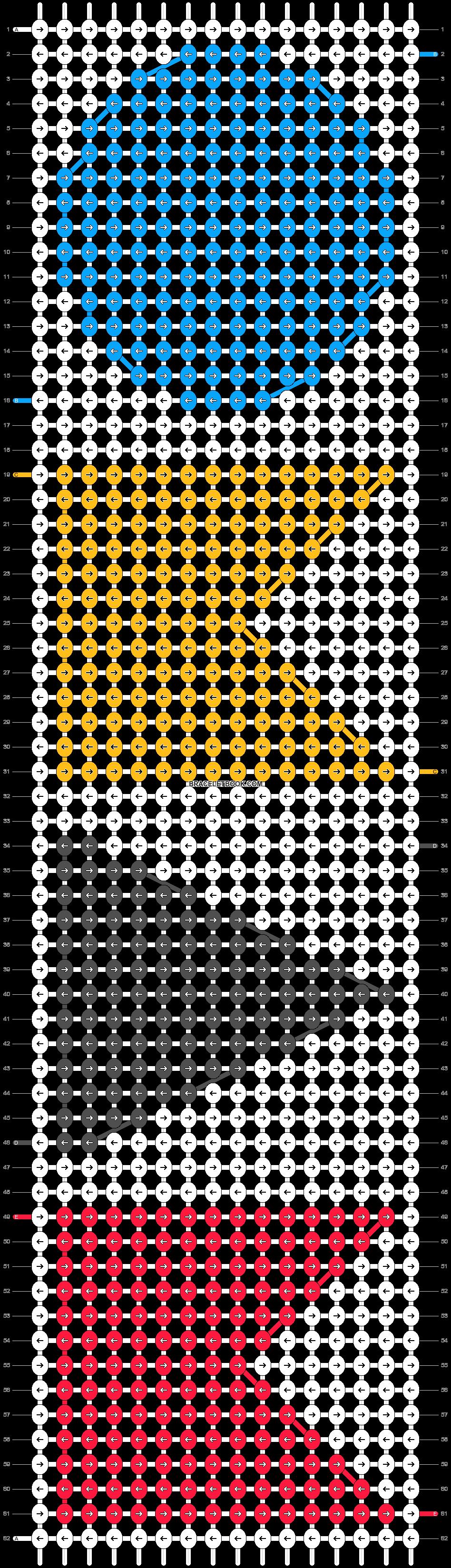 Alpha pattern #10771 pattern