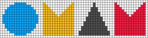 Alpha pattern #10771