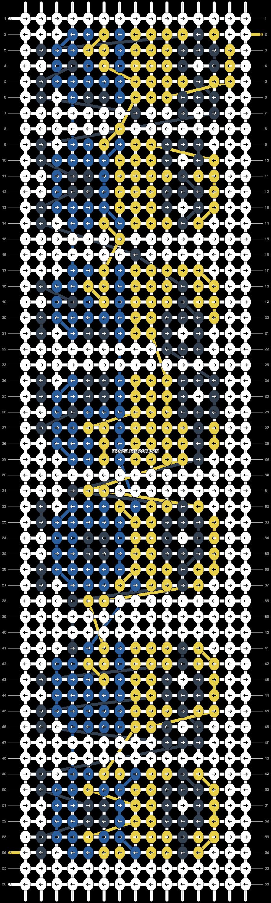 Alpha pattern #10772 pattern