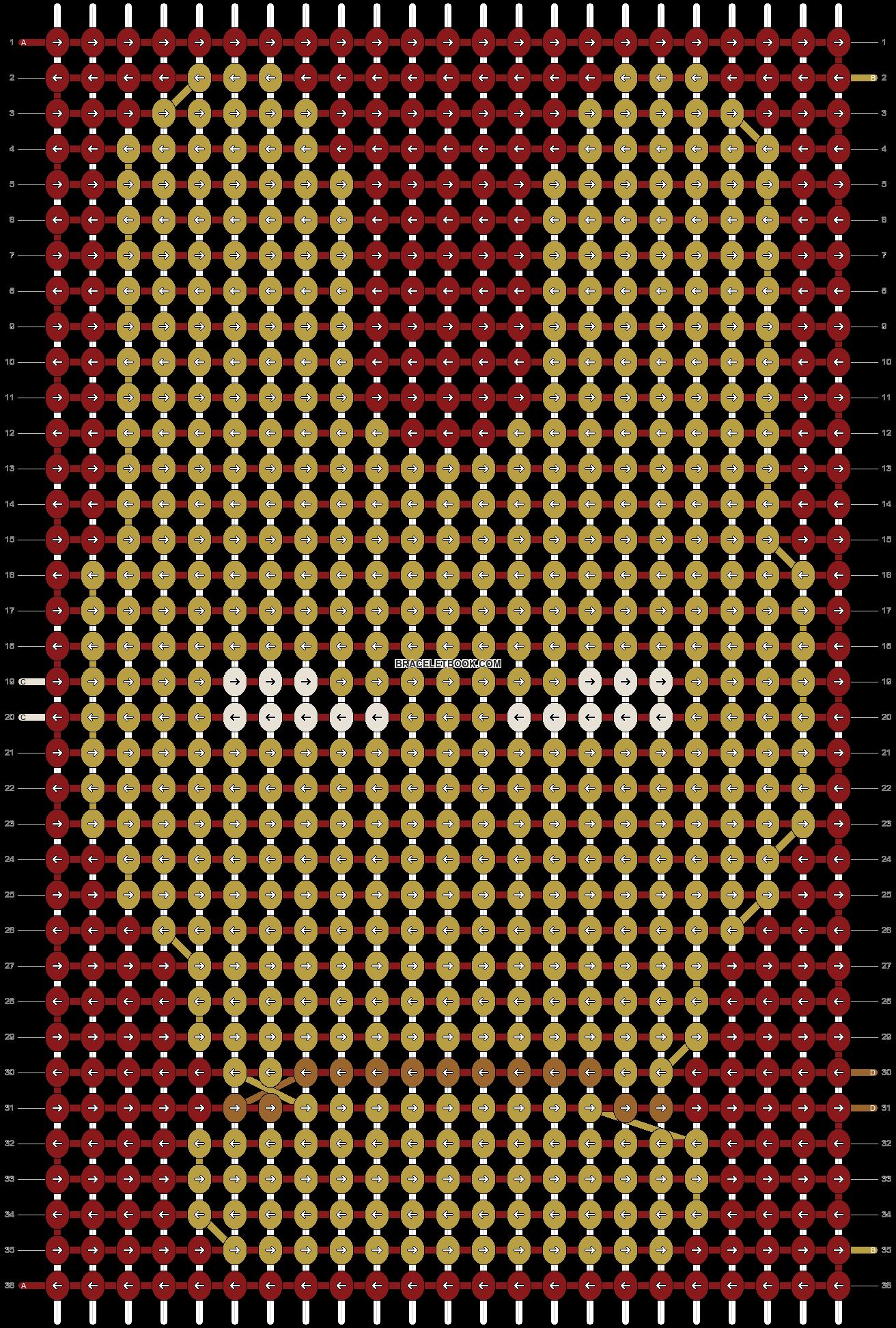 Alpha pattern #10779 pattern