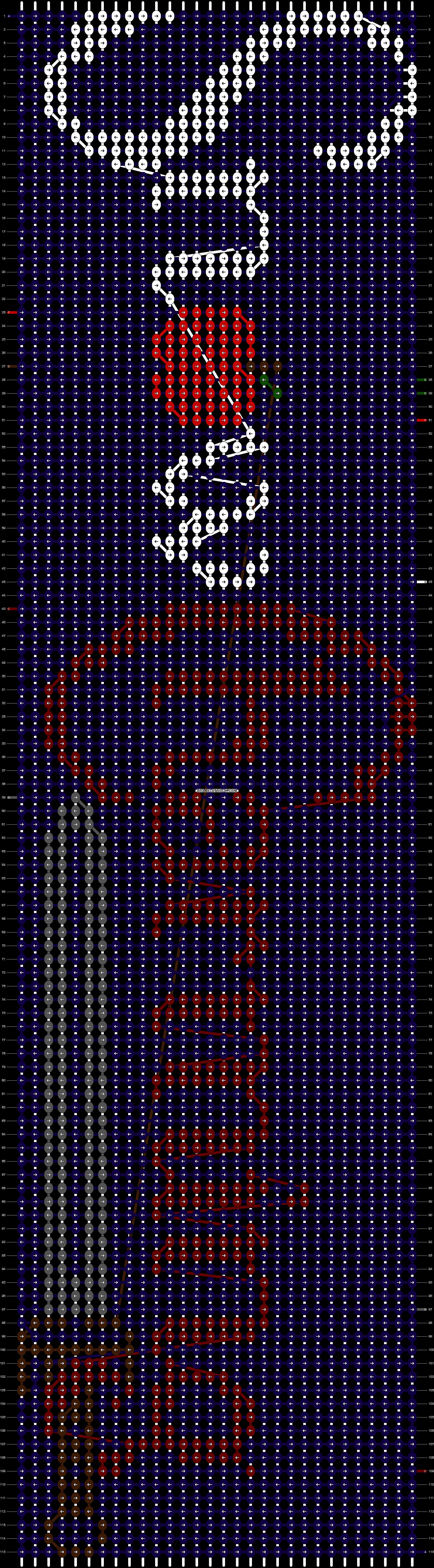 Alpha pattern #10787 pattern