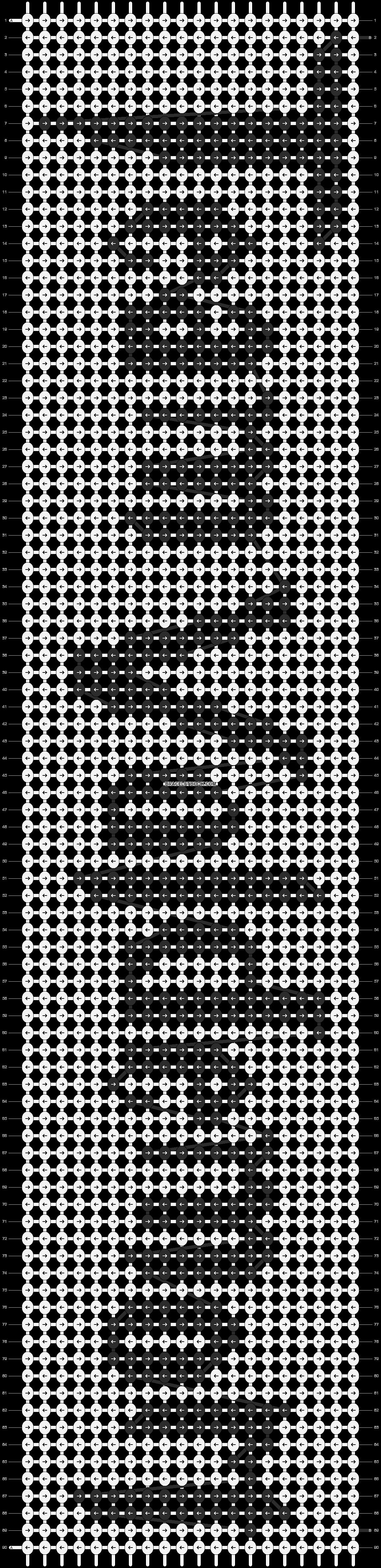 Alpha pattern #10789 pattern