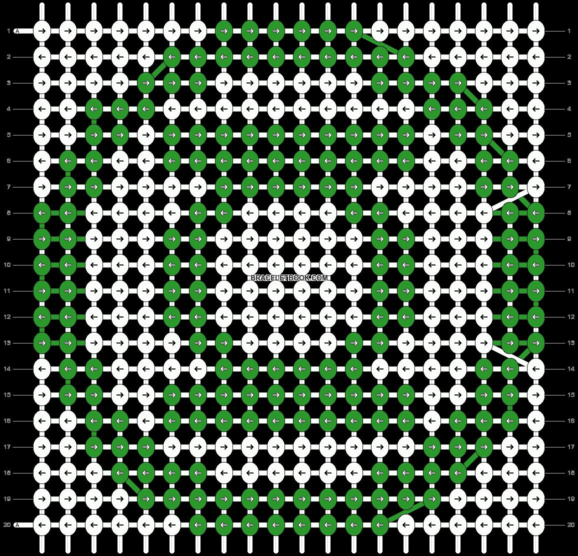 Alpha pattern #10795 pattern