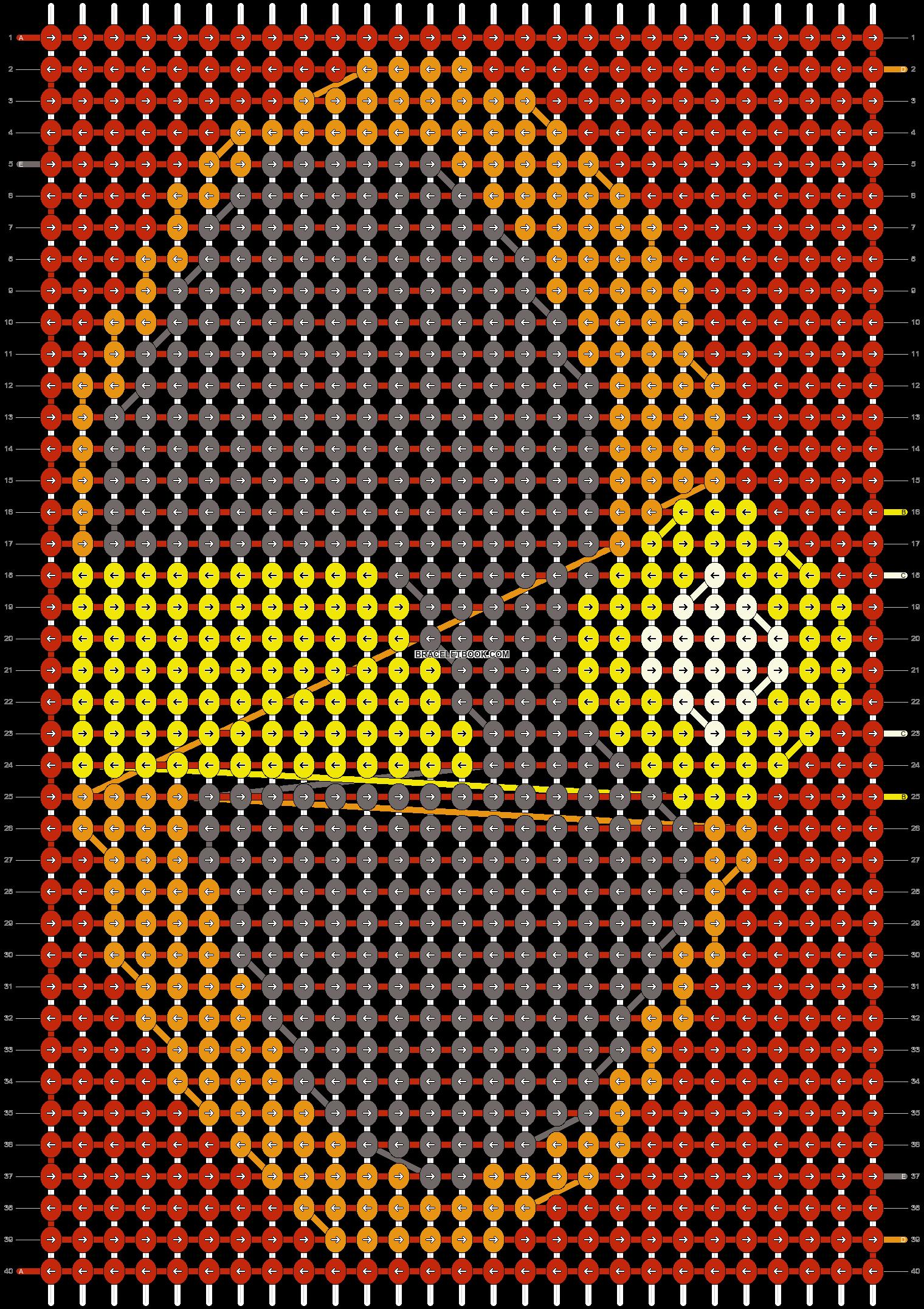 Alpha pattern #10798 pattern