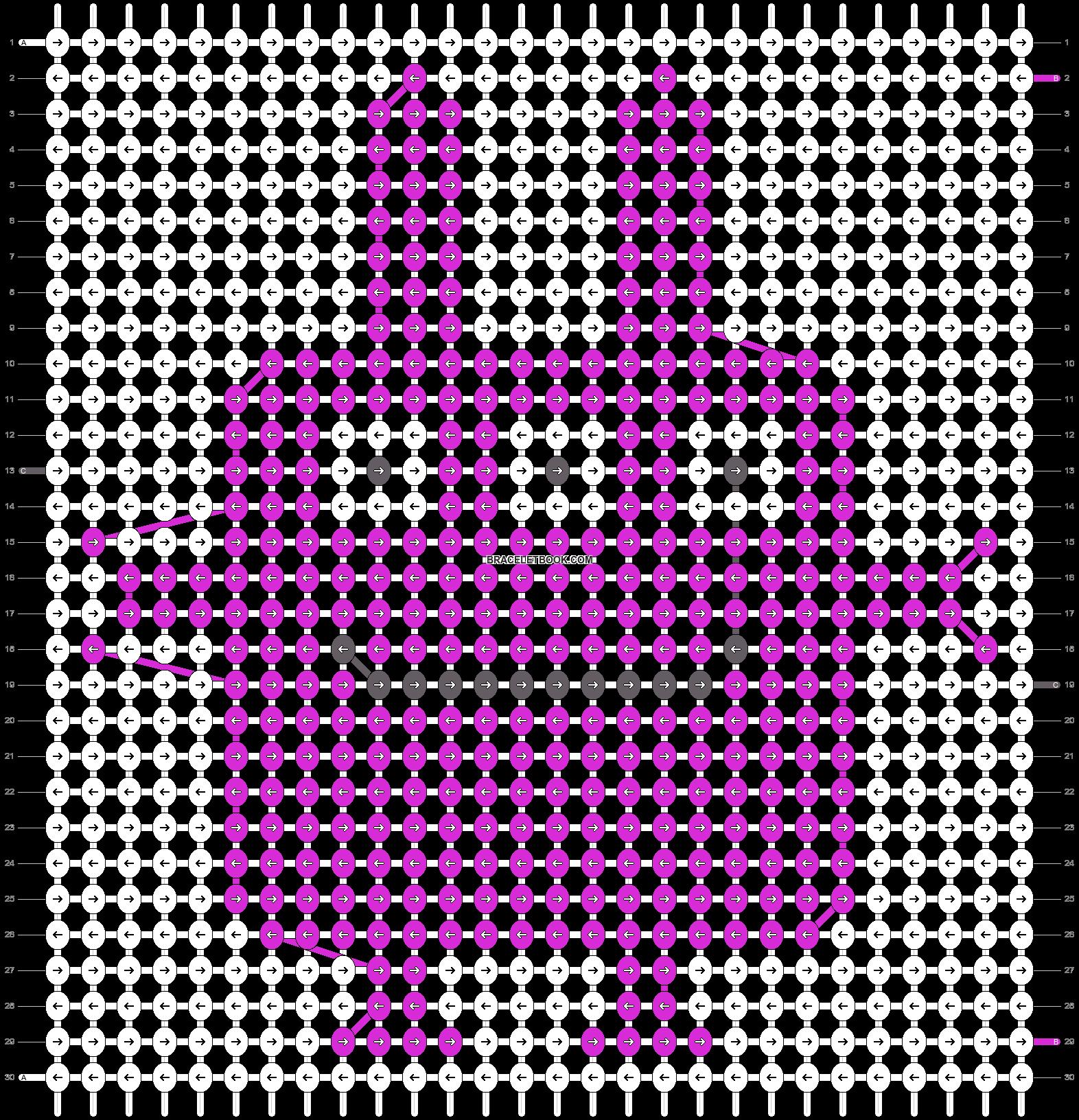 Alpha pattern #10806 pattern